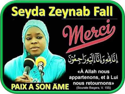 Yéwu Yété: Seyda Zeynab FALL Ak Ay Kaddu Yu Ame Ndiarign.