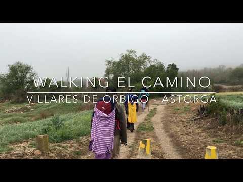 Walking el Camino: Villares de Orbigo - Astorga