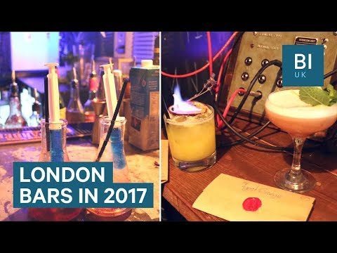 The coolest London bars we found in 2017