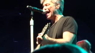 Jon Bon Jovi & KOS: I Wish Everyday Could Be Like Christmas - Las Vegas (Dec 9th 2014)