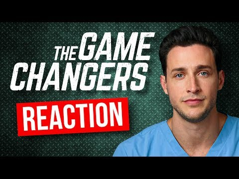 Real Doctor Reacts to The Game Changers 'VEGAN' Documentary