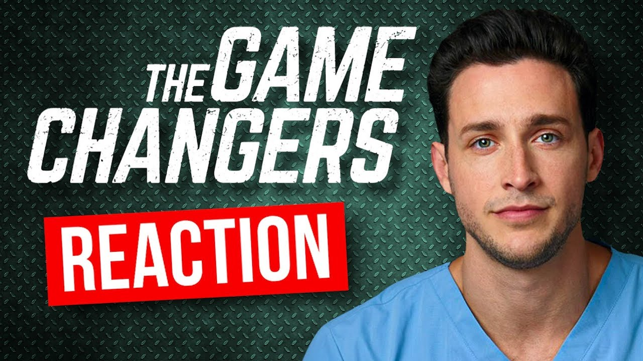 """Download Real Doctor Reacts to The Game Changers """"VEGAN"""" Documentary"""