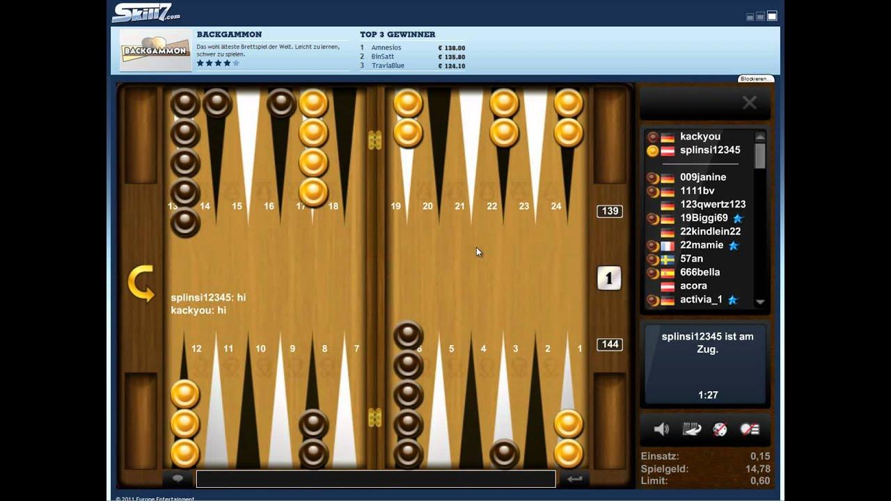 Online Backgammon Spielen