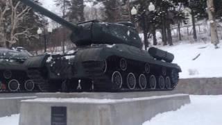 Русские танки памятники.