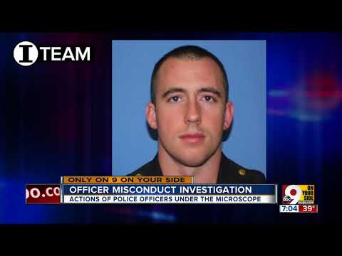 Officer misconduct investigation