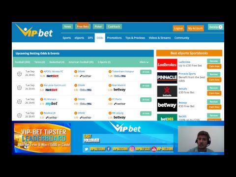 VIP-bet Odds Show I Sports Betting Markets