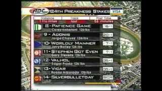 1999 Preakness Stakes - Charismatic : Full ABC Broadcast