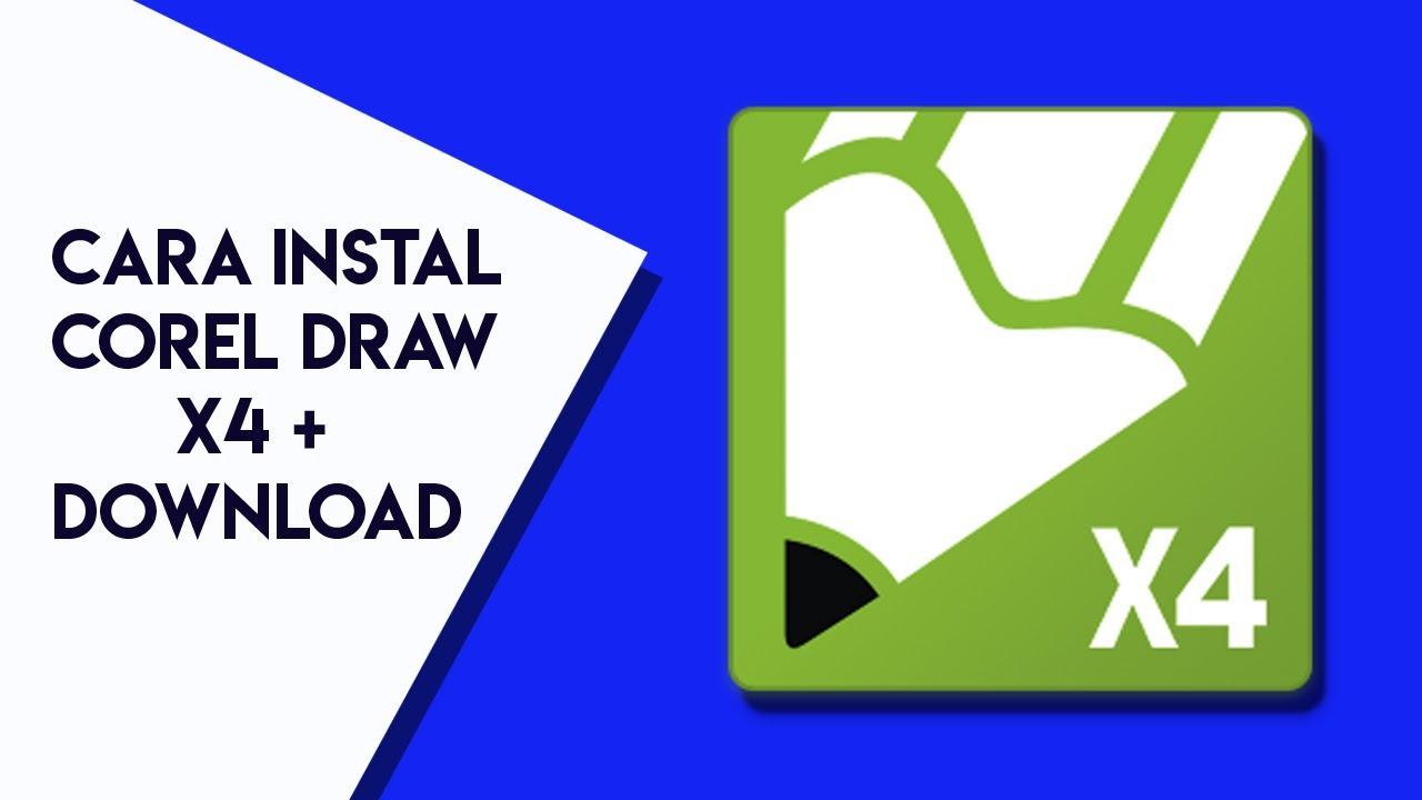 Coreldraw x4 windows 10 - Download Corel Draw X4 Cara Instal 2