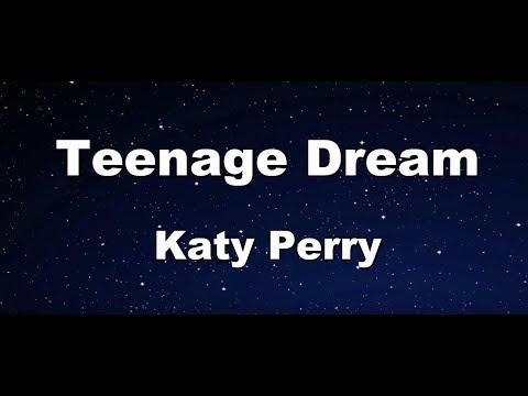 Teenage Dream - Katy Perry Karaoke【Guide Melody】
