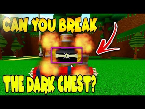 Destroying The Dark Chest Theory Build A Boat For - roblox build a boat tnt