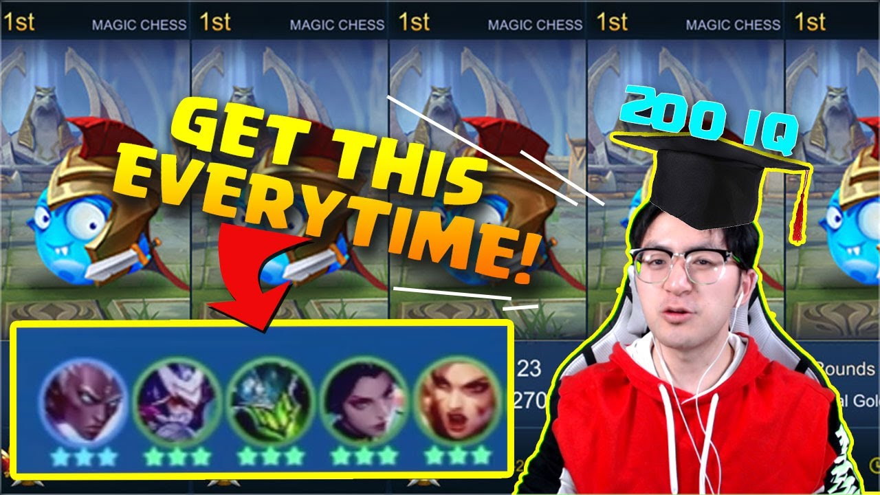 100% WIN Magic Chess Strategy GUIDE | Mobile Legends