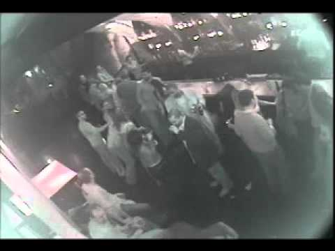 Marine KNOCKS OUT  two men IN SECONDS at bar