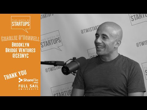 Charlie O'Donnell of BBV on NYC investing & how to make entrepreneurship a practice
