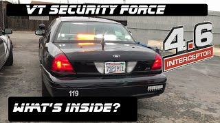 Whats Inside This Security Force Crown Victoria! Police Interceptor 2017