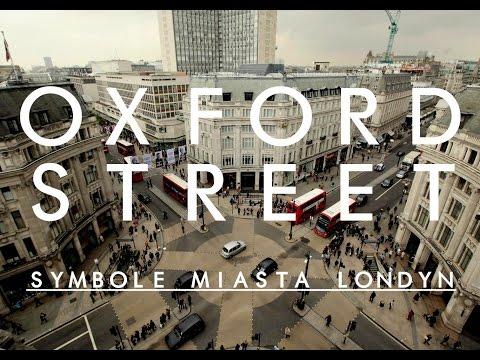 Symbole Miasta LONDYN - Oxford Street #3