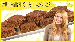Pumpkin Bars- Dairy Free & Gluten Free Dessert