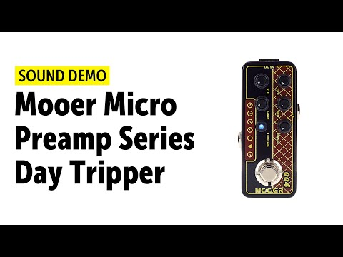 Mooer Micro Preamp Series Day Tripper Sound Demo (no talking)