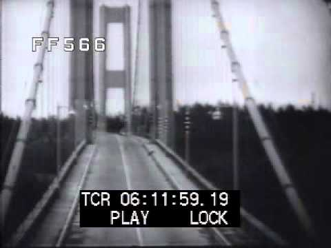 Galloping Gertie Tacoma Bridge Youtube