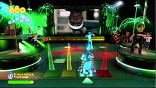 Dance Paradise 720P gameplay 50 cent (In Da Club) Xbox 360 Kinect