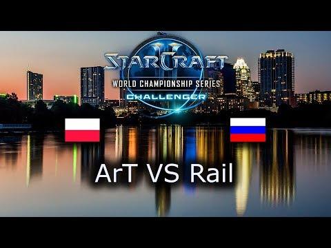 ArT VS Rail - EU Open Qualifiers for Challenger WCS Austin 2018 - polski komentarz