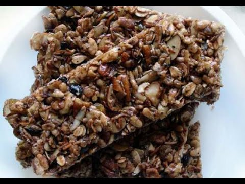 How to Prepare Dry Fruit Energy Bar - A Diet Supplement