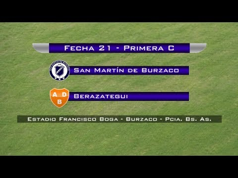 Fecha 21: San Martín de Burzaco vs Berazategui - EN VIVO
