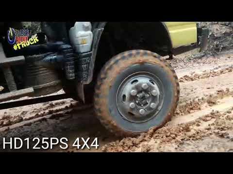 HD 125 PS 4X4 Di Pendakian Habis Hujan Semalam