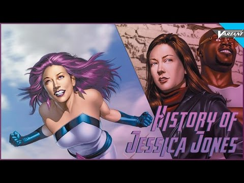 History Of Jessica Jones!