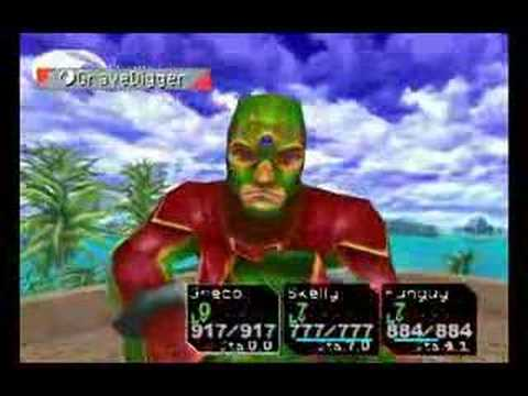 Chrono Cross Greco Grave Digger Youtube