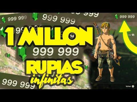 RUPIAS INFINITAS | ZELDA BREATH OF THE WILD | GLITCHES