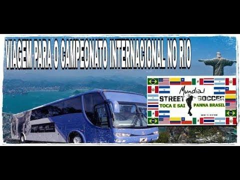 VIAGEM PARA O CAMPEONATO INTERNACIONAL DE PANNA