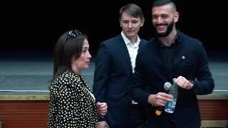 Альфия Климовицкая, Ваха Кудаев и Дмитрий Корчагин Челябинск 22 09 18