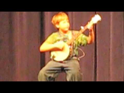 9 Year Old Clawhammer Banjo Player April 2009