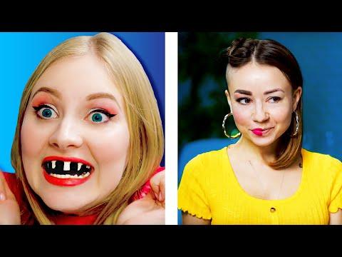 IF BEAUTY TRENDS GOT WEIRD || Weird comedy by 5-Minute FUN