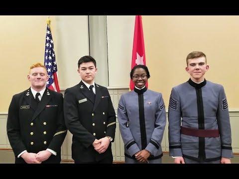 2017 Army Navy Debate Team Match Philadelphia, PA