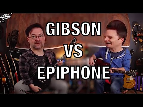Cheapest Gibson vs Most Expensive Epiphone - A Les Paul Challenge!