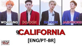 Gambar cover The Rose (더로즈) - CALIFORNIA [Eng/ PT-BR Color Coded Lyrics]