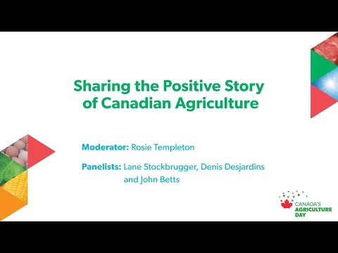 Sharing the positive story of ag: Canada's Agriculture Day in Ottawa industry panel