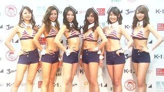 12月18日(金) 東京・大久保のGSPメディアセンターにて2016 K-1ガールズ...