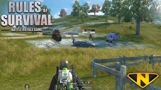 Sniper/Shotgun Only Squads (Rules of Survival: Battle Royale)