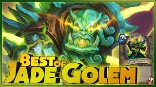 Hearthstone - Best of Jade Golem - Funny and lucky Rng Moments