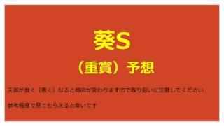 【新設重賞】葵S 2018予想【競馬予想】 予想更新通知が個人設定で届くチ...