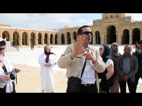 Tour Guide at Kairouan Mosque.