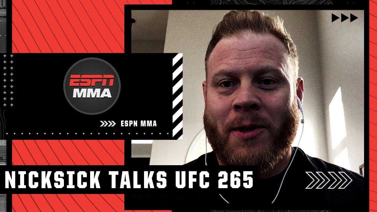 Francis Ngannou's coach Eric Nicksick previews Derrick Lewis vs. Ciryl Gane at #UFC265