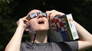 Solar Eclipse: New Yorkers Flock to Central Park