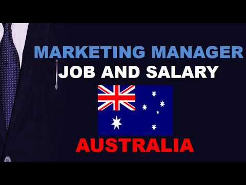 Marketing Manager Salary In Australia - Jobs And Wages In Australia