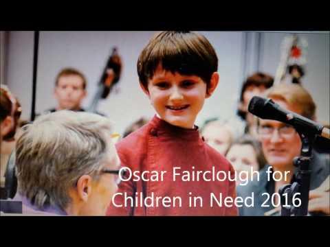 Oscar Fairclough for Children in Need 2016