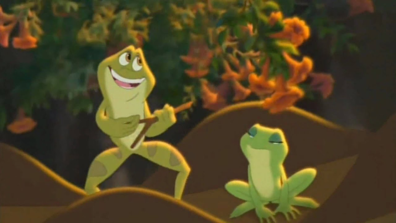Fandub la princesse et la grenouille humains pour la - La princesse et la grnouille ...