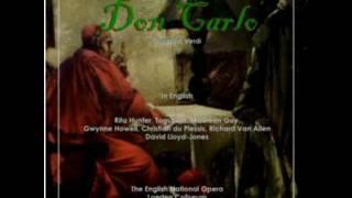 """Rita Hunter sings """"Tu che le vanità"""" (In English) from Don Carlo"""
