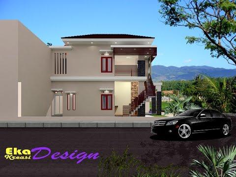 jasa desain arsitek rumah minimalis modern edisi render
